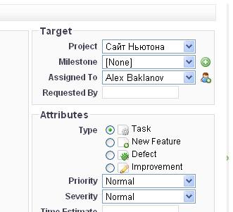 Описание системы управления проектами ClockingIT